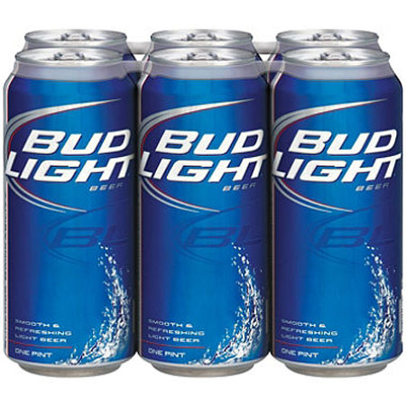 Bud Light 15 PK Cans
