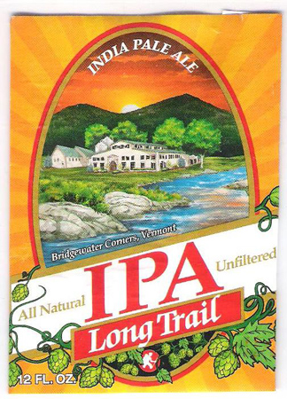 Long Trail IPA 12 PK Bottles