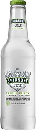 Smirnoff Ice Triple Black Bottle