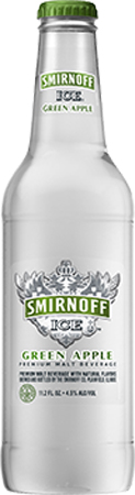 Smirnoff Ice Green Apple Bite Bottle