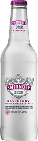 Smirnoff Ice Raspberry Bottle