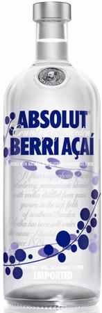 Absolut Berri Acai Vodka