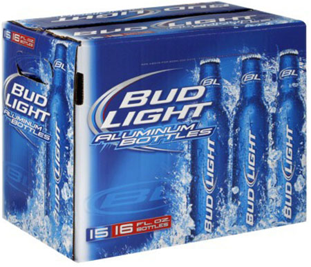 Bud Light Aluminum 8 PK Bottles