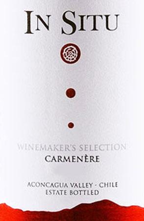 In Situ Winemaker's Selection Carmenere
