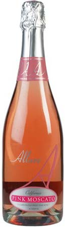 Allure Sparkling Pink Moscato