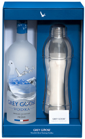 Grey Goose Vodka With Shaker