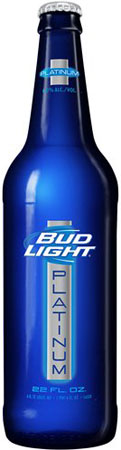 Bud Light Platinum Bottles