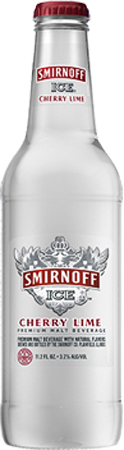 Smirnoff Ice Cherry Lime 6 PK Bottles