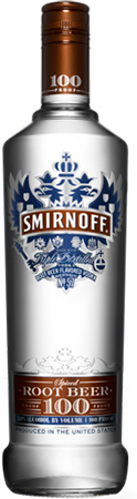Smirnoff 100 Root Beer Vodka