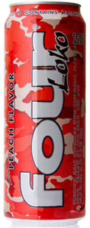 Four Loko Peach Flavor