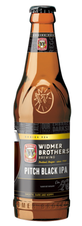 Widmer Brothers Pitch Black IPA 4 PK Bottles