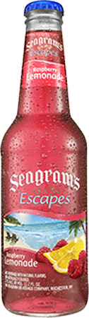 Seagram's Escapes Raspberry Lemonade 4 PK Bottles