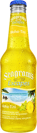 Seagram's Escapes Aloha-tini 4 PK Bottles