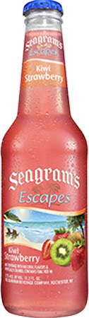 Seagram's Escapes Kiwi Strawberry 4 PK Bottles