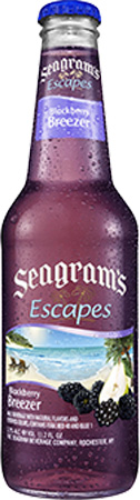 Seagram's Escapes Blackberry Breezer 4 PK Bottles
