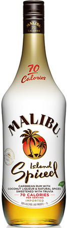 Malibu Island Spiced With Coconut Rum
