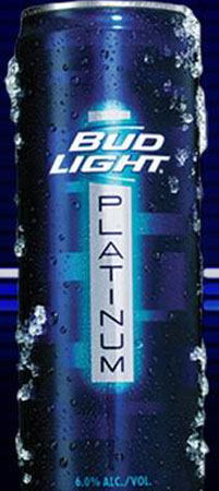 Bud Light Platinum 18 PK Cans