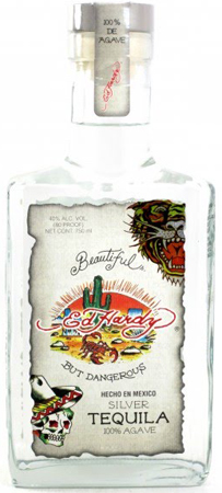 Ed Hardy Silver Tequila