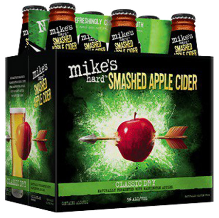 Mike's Hard Smashed Apple Cider 6 PK Bottles