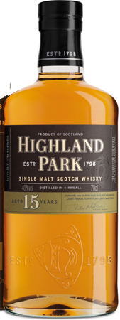 Highland Park 15 Years Scotch