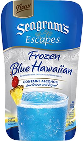 Seagram's Escapes Frozen Blue Hawaiian