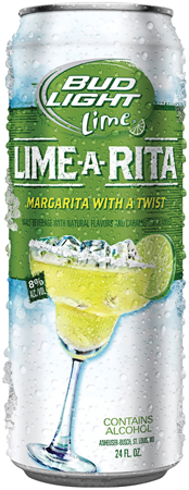 Bud Light Lime Rita Can