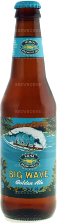 Kona Big Wave Godlen Ale 6 PK Bottles