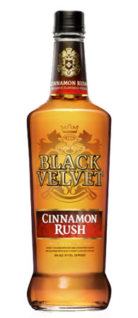Black Velvet Cinnamon Rush Whisky