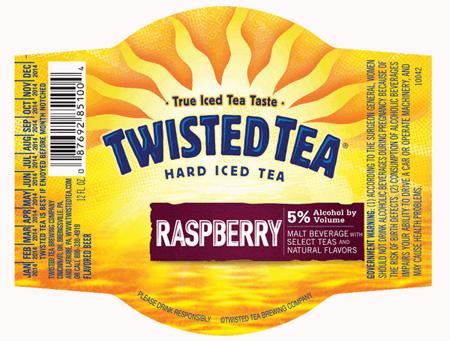 Twisted Tea Raspberry Can