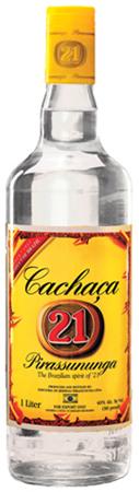 Pirassununga 21 Cacacha Rum