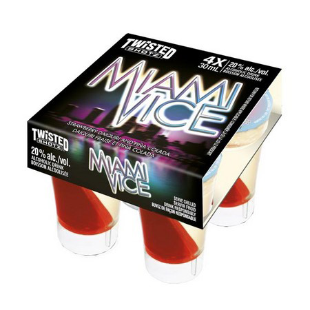 Twisted Shotz Miami Vice 4 Pack