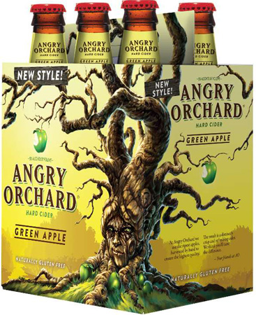Angry Orchard Green Apple 6 PK Bottles