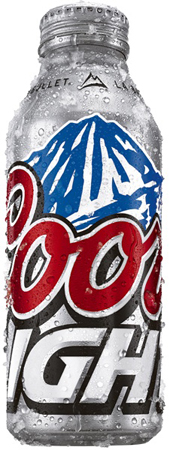 Coors Light Aluminum 15 PK Cans