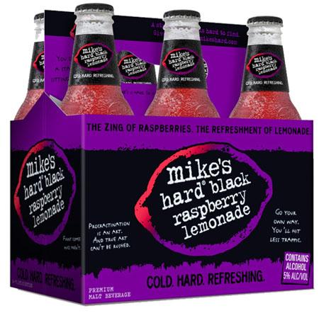 Mike's Hard Black Raspberry Lemonade 6 PK Bottles