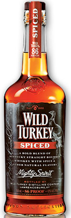 Wild Turkey Spiced 86 Proof Bourbon Whiskey