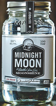 Midnight Moon Junior Johnson 100 Proof