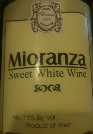 Mioranza Sweet White