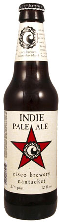 Cisco Brewers Indie Pale Ale 6 PK Bottles