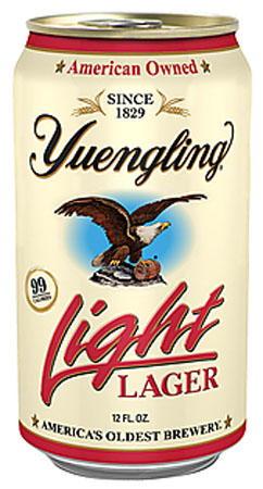 Yuengling Light Lager 4 PK Cans