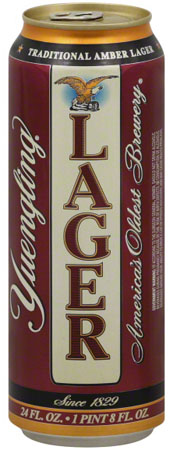 Yuengling Lager Can