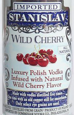 Stanislav Wild Cherry Vodka