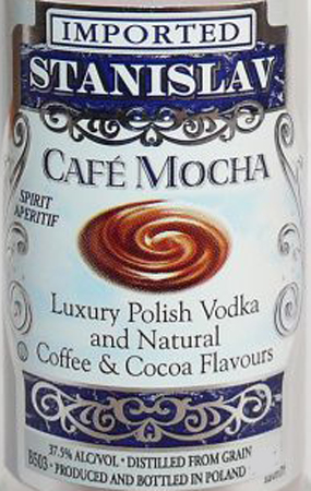 Stanislav Cafe Mocha Vodka