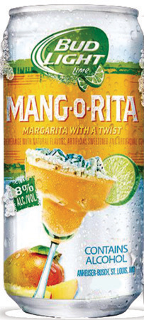 Bud Light Lime Mang-o-rita Can