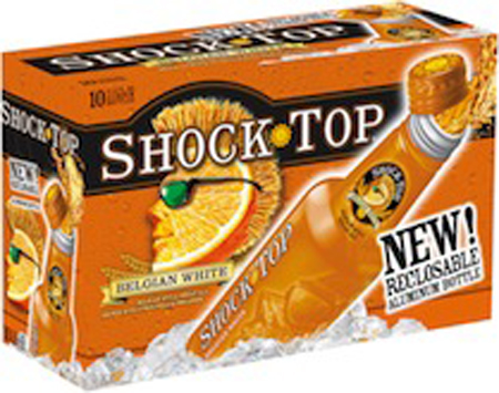 Shock Top Belgian White 10 PK Alumium Bottles