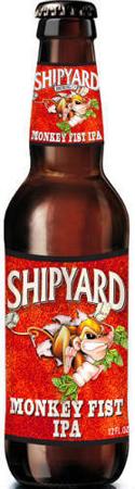 Shipyard Monkey Fist IPA 12 PK Bottles