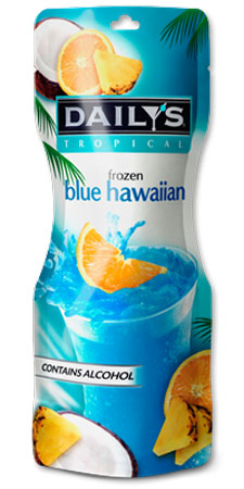 Daily's Frozen Blue Hawaiian