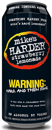 Mike's Harder Strawberry Lemonade 4 PK Cans