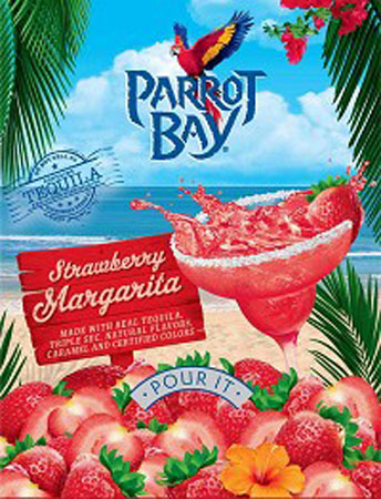 Parrot Bay Strawberry Margarita