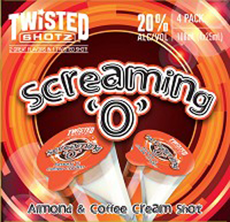 Twisted Shotz Screaming O 4 Pack