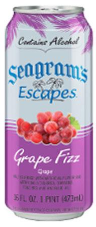 Seagram's Escapes Grape Fizz 4 PK Cans